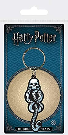 Keychain Harry Potter - Llavero de Goma Dark Mark: Amazon.es ...
