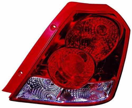 aveo taillight chevrolet replacement taillights