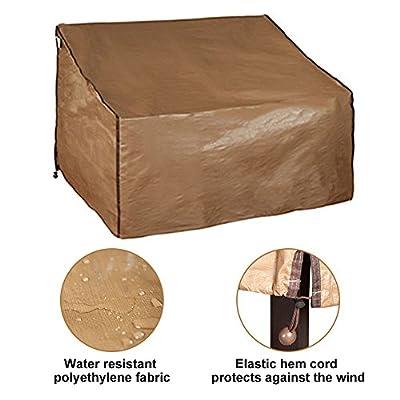 Abba Patio Outdoor Seat Sofa Cover Waterproof Wicker/Rattan Lounge Porch Sofa Cover