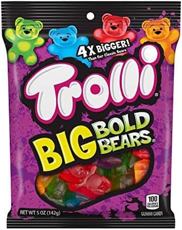 Gummy Candies: Trolli Big Bold Bears