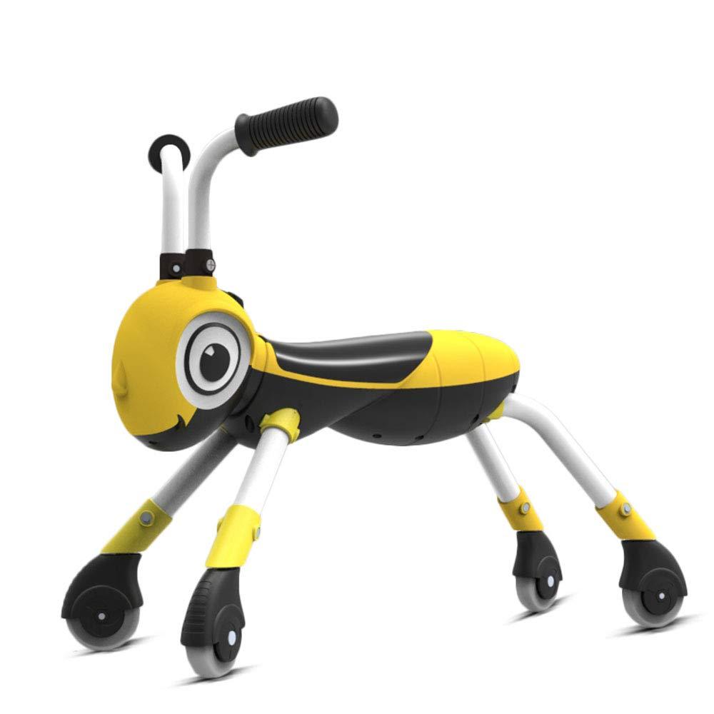 子供用自転車、バランス自転車、ABS材質、簡単取り付け、いいえ塗料の安全性と環境保護はありません、車両重量は2.6KG、長さは61cm   B07JBW85MC