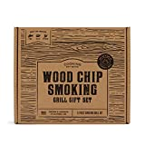 Cooking Gift Set | BBQ Smoker Wood Chip Grill Set | Perfect Gift for Guys | Christmas Gift for Dad