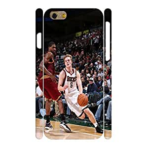 Comfortable Basketball Series Print Hard Plastic Print Star Series Phone Shell for Iphone 6 Case - 4.7 Inch