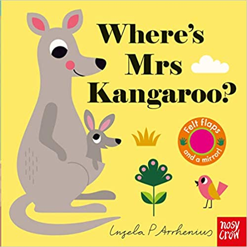 Where's Mrs Kangaroo, front cover.
