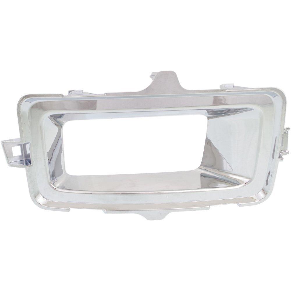 Fog Light Trim Compatible with Toyota Camry 12-14 Molding Bezel Chrome Se//Se Sport Model Right Side