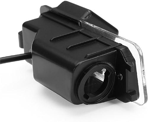 Reversing Vehicle-Specific Camera Integrated in Number Plate Light License Rear View Backup Camera for VW EOS, Golf V MK5, Passat B7 CC, VW Golf VI MK6 VW Amarok Robust Seat Leon Altea Skoda Superb I