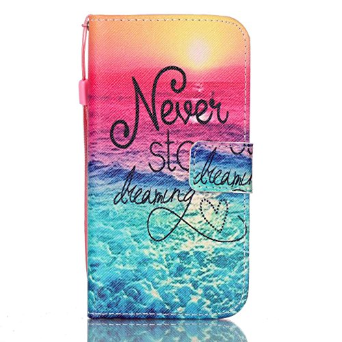 Price comparison product image Galaxy S7 Case, Firefish Kickstand Flip [Card Slots] Wallet Cover Double Layer Bumper Shell with Magnetic Closure Strap Protective Case for Samsung Galaxy S7