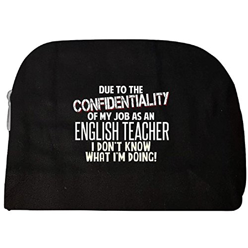 English Teacher Don't Know What I'm Doing Funny Coworker Gift - Cosmetic - To Christmas For Buy What Teachers