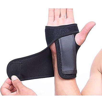 Enshey 1 Pair Wrist Brace Removable Wrist Hand Palm Splint Support Carpel  Wrist Support Arthritis Thumb Splint Thumb Spica Support for Carpal Tunnel,