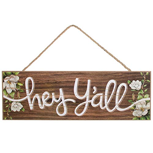 GiftWrap Etc. Vintage Hey Y'all Wooden Sign - 15