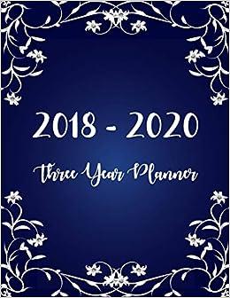 Gratitude Calendar December 2020 2018   2020 Three Year Planner: Monthly Schedule Organizer