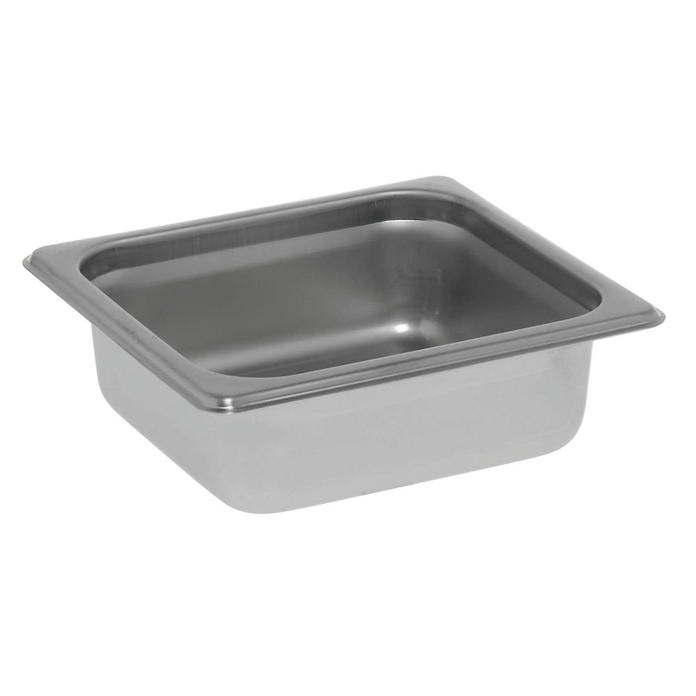 HUBERT Steam Table Pan 1/6 Size 22 Gauge Stainless Steel - 2 1/2 D