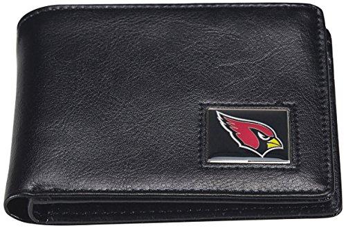 NFL Arizona Cardinals Men's Leather RFiD Safe Travel Wallet