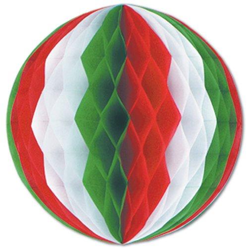 Beistle 55619-RWG Tissue Ball, 19