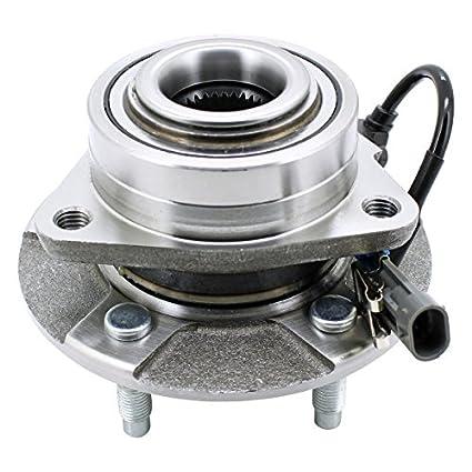 WJB WA513189HD Heavy Duty Version Front Wheel Hub Assembly Wheel Bearing  Module Cross Timken 513189 Moog 513189 SKF BR930326, 1 Pack