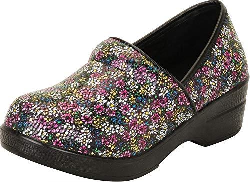 - Cambridge Select Women's Classic Professional Work Slip-On Comfort Clog,8 B(M) US,Daisy
