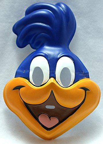 Road Runner Costume Looney Tunes (Child's Road Runner PVC Costume Mask)