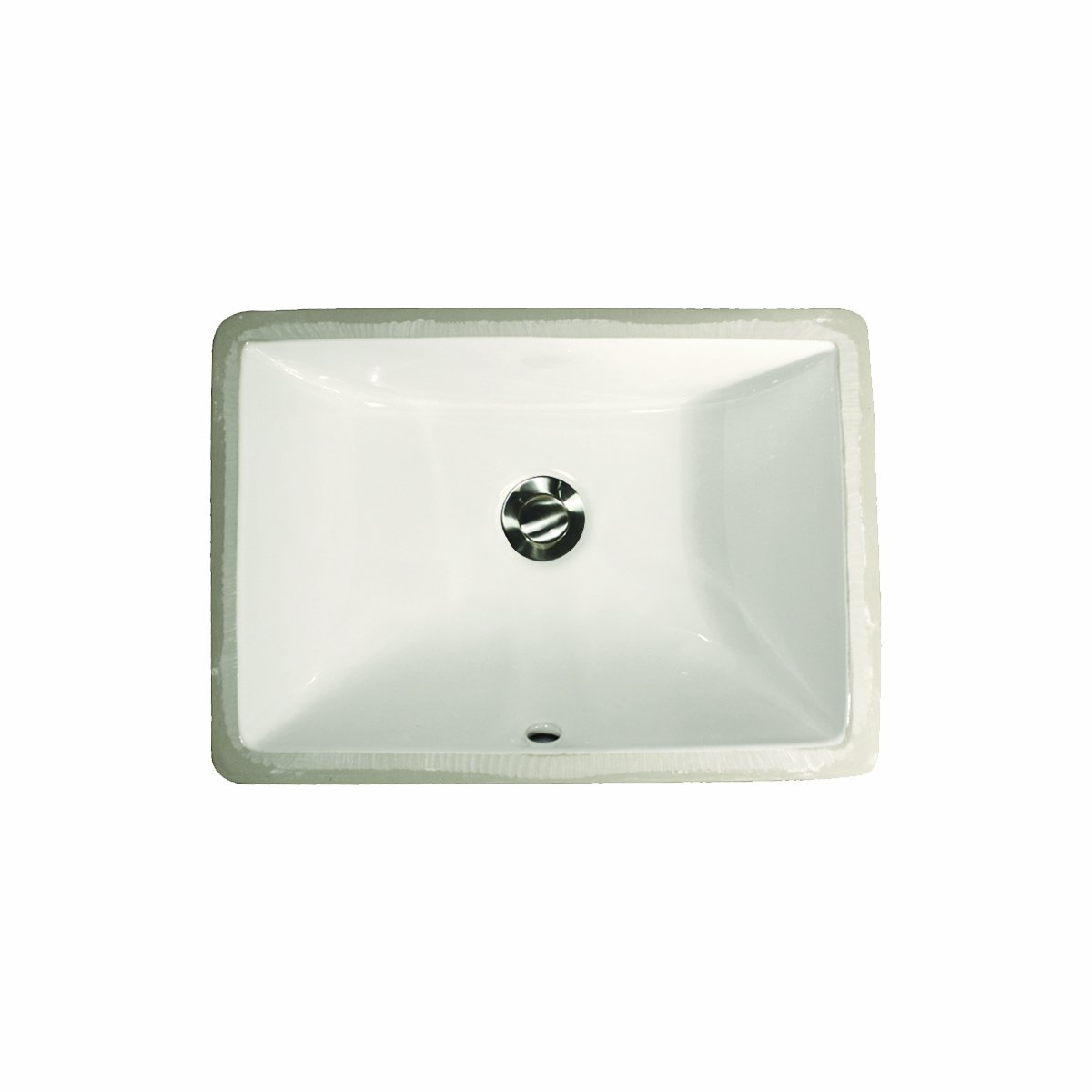 16 Inch Vanity Sink Part - 46: Nantucket Sinks UM-16x11-W 16-Inch By 11-Inch Rectangle Ceramic Undermount  Vanity, White - - Amazon.com