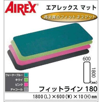 AIREX(R) エアレックス マット フィットネスマット(波形パターン) FITLINE180 フィットライン180 AML-480 Bウォーターブルー 1066371 B01HXLJVEY