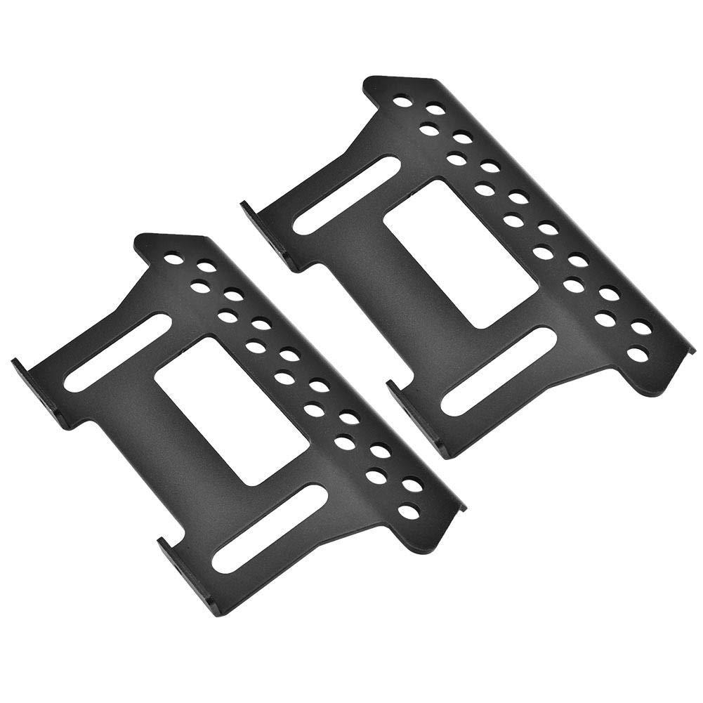 Drfeify Plaque de p/édale en m/étal pour axiale SCX10 Sliders 1:10 RC Crawler Voiture Black