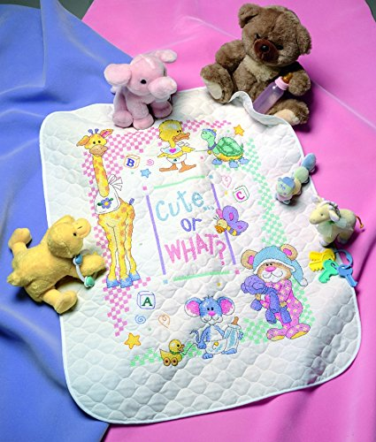 (Dimensions Baby Hugs Kit Stamped Quilt Cute Or What?)