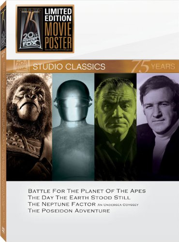 Studio Classics Set 18 (Battle for the Planet of the Apes/The Day The Earth Stood Still/The Neptune Factor/The Poseidon Adventure)