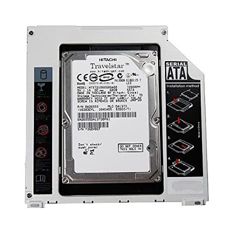 trongle Apple Bandeja para HDD/SSD SATA bahía de disco duro caddy ...