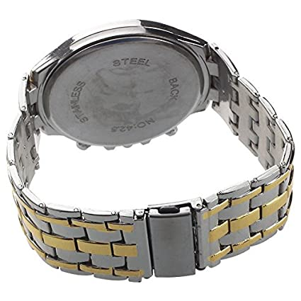 SLB Works Orlando Men Alloy Band Steel Case Quartz: Amazon in