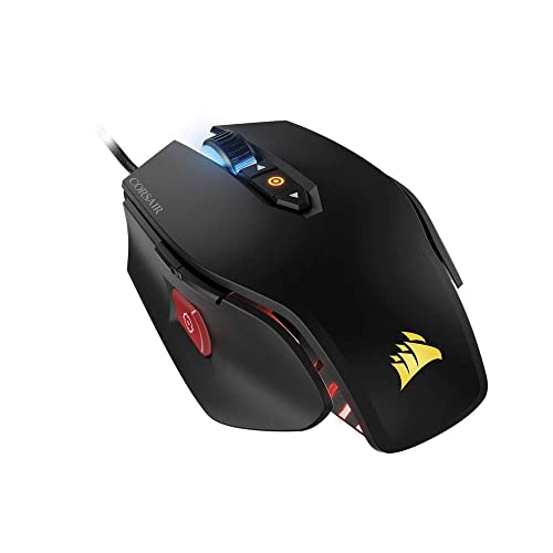 Corsair M65 PRO RGB Optisch Gaming Maus (RGB-LED-Hintergrundbeleuchtung, 12000 DPI) schwarz