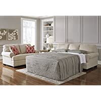 Ashley Sansimeon Queen Sleeper Sofa in Stone