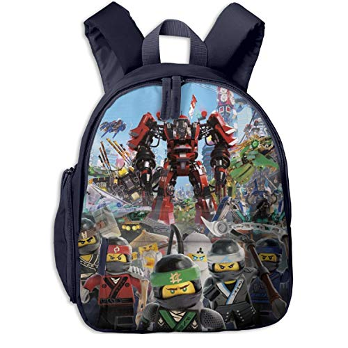 Insulated Child Backpack, Masters Of Spinjitzu Action Ninja Hero Character Poster Sports Backpacks With Adjustable Shoulder Straps, Heavy Duty Personalized Kindergarten Bags for Boys Girls (Personalized Lego Water Bottle)