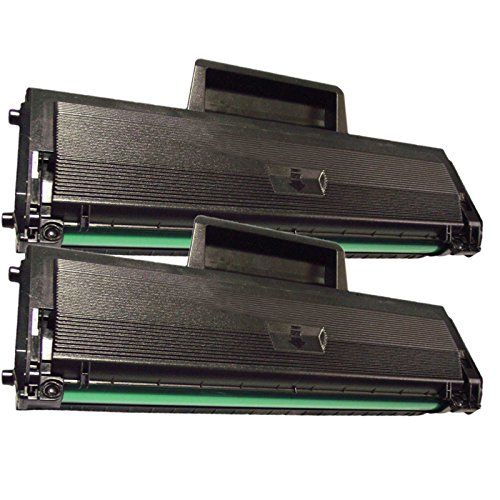 2 Inktoneram Replacement toner cartridges for Samsung D104S MLT-D104S Toner Cartridge Toner Cartridge ML-1865 ML-1865W SCX-3200 SCX-3200W SCX-3205 SCX-3205W ML-1660 ML-1660N ML-1665 ML-1670 ML-1675