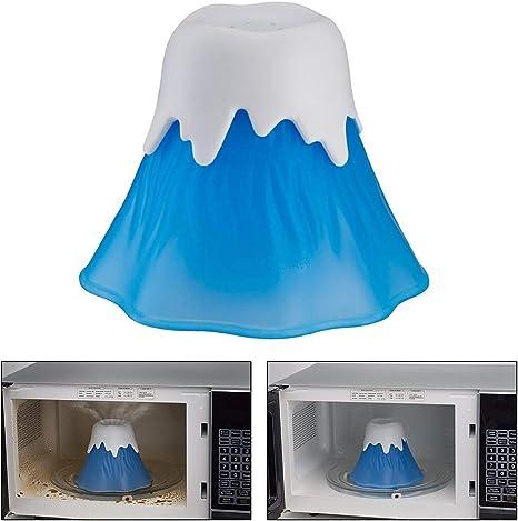 Ailyoo Cocina Volcano Microondas Limpiador Explosión Utensilios de Cocina/Microondas Estufa Limpiador a Vapor Desinfectado con vinagre y Agua para Las cocinas del hogar o la Oficina: Amazon.es: Hogar