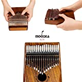 Moozica 17-Key EQ Kalimba, Electric Finger Thumb