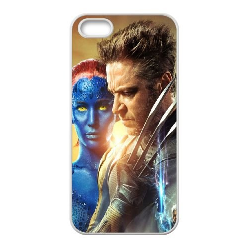 X Men Days Of Future Past coque iPhone 4 4S cellulaire cas coque de téléphone cas blanche couverture de téléphone portable EOKXLLNCD20859