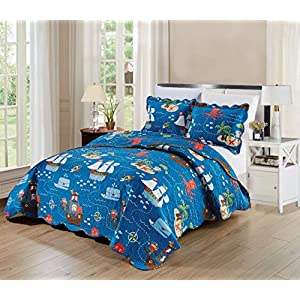 51WKuy1WJDL._SS300_ Pirate Bedding Sets and Pirate Comforter Sets