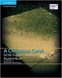 Gcse English Literature For Aqa A Christmas Carol Student Book Gcse