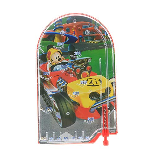 KidPlay Products Disney Mickey Mouse Girls Handheld Pinball Game Travel Toy Stocking Stuffer