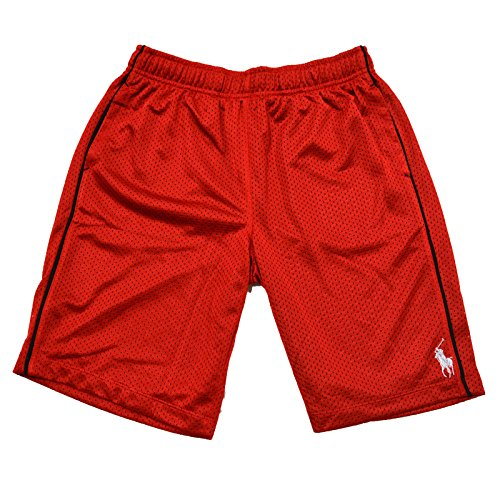 (Polo Ralph Lauren Boys Athletic Shorts(RL 2000 Red, Large (14-16)))