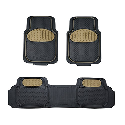 car seat cover floor set beige - 2