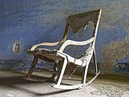 Home Comforts Canvas Print Rocker Old Rocking Chair Ramshackle Mystery  Stretched Canvas 10 X 14