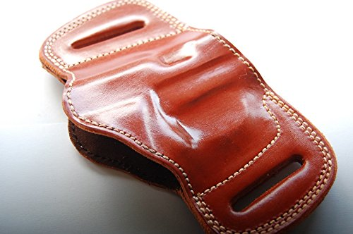 - Browning 1911-380 Belt Slide Laether Holster (Tan)