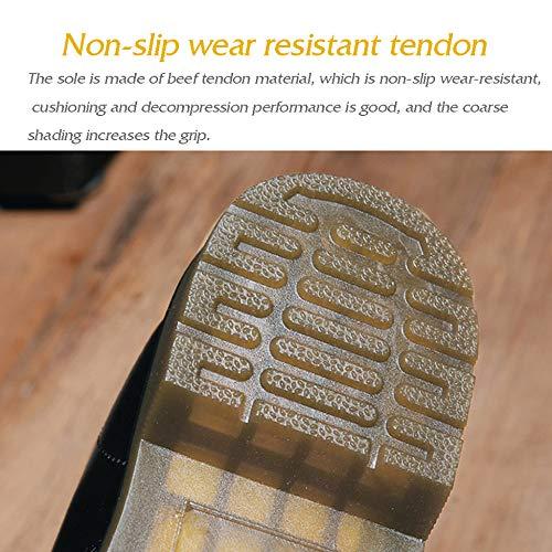 Coton En Cuir Pour Travail Bottines Hommes Chaussures Martin Chaud De Black Et Velours aWAaRc8fn
