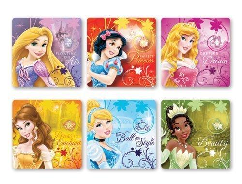Disney Princess Glitter Stickers 50 per roll