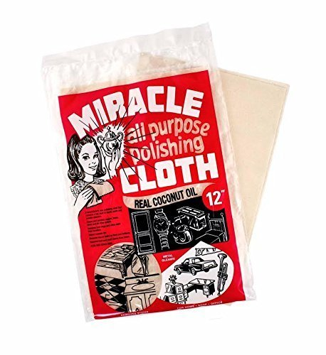 - Miracle All Purpose Polishing Cloth, 12