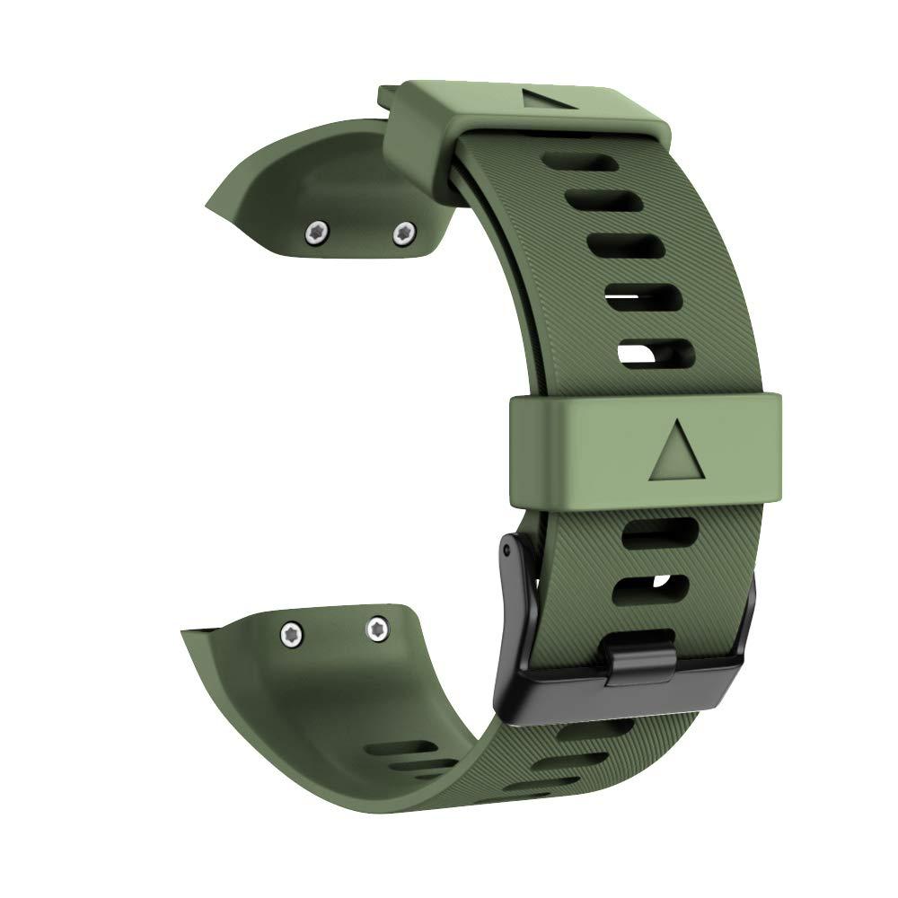 WIIKAI Bracelet Compatible avec Garmin Forerunner 35 R/églables Replacement Band pour for Garmin Forerunner 35 Wristband Bracelet de Montres.