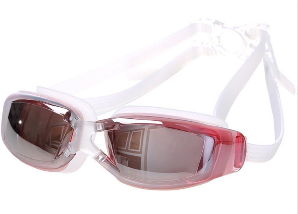 Shuda - Gafas de natación para piscina y buceo para mujeres, hombres, adultos, adolescentes y niños onesize Rosa