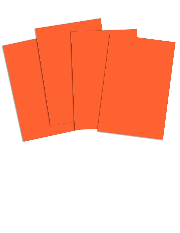 REAM 250 SHEETS 160GSM DEEP RED A4 Coloured Craft Card CRAFT HOBBY PRINTER