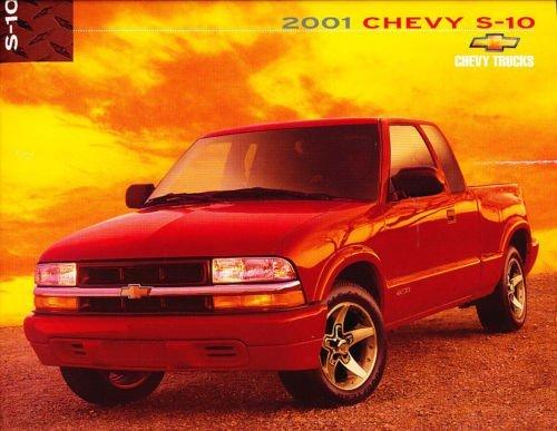 2001 Chevrolet S-10 S10 Truck 20-page Dealer Canada Sales Brochure - Zr2 Xtreme