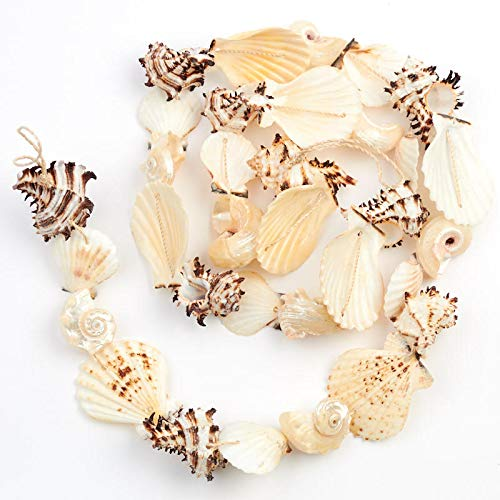 (Factory Direct Craft Natural Seashell Garland)